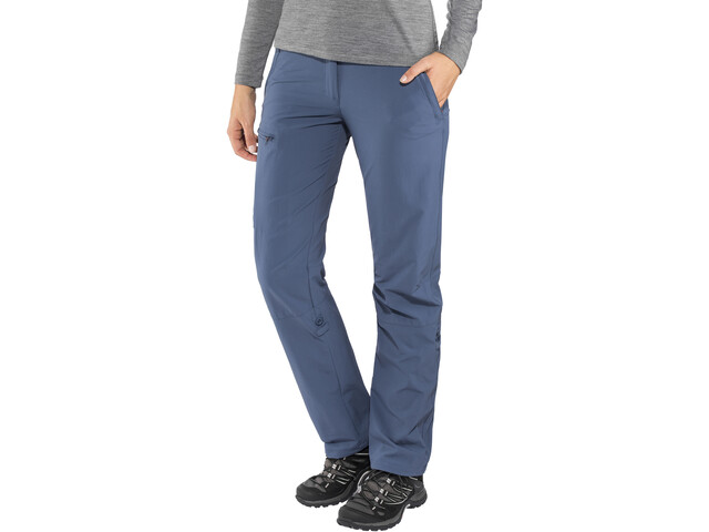 Maier Sports Lulaka Roll Up Broek Dames, ensign blue